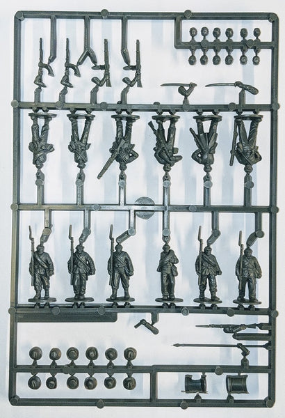 Perry Miniatures Plastic American Civil War Infantry Sprue