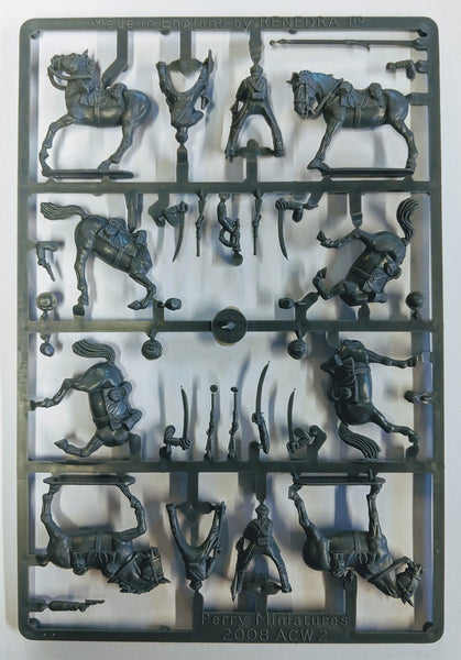 Perry Miniatures American Civil War Cavalry Sprue