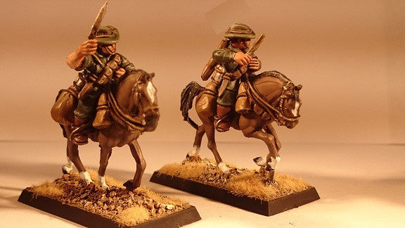 ALH106 Australian Light Horse Mounted Charging