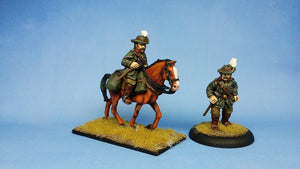 ALH108 Australian Light Horse Officer foot & mounted