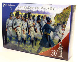Perry Miniatures Napoleonic Austrian 'German' Infantry
