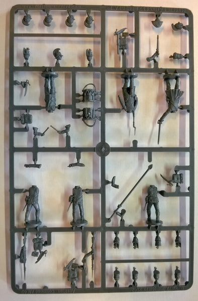 Perry Miniatures Napoleonic Austrian Infantry Command Sprue