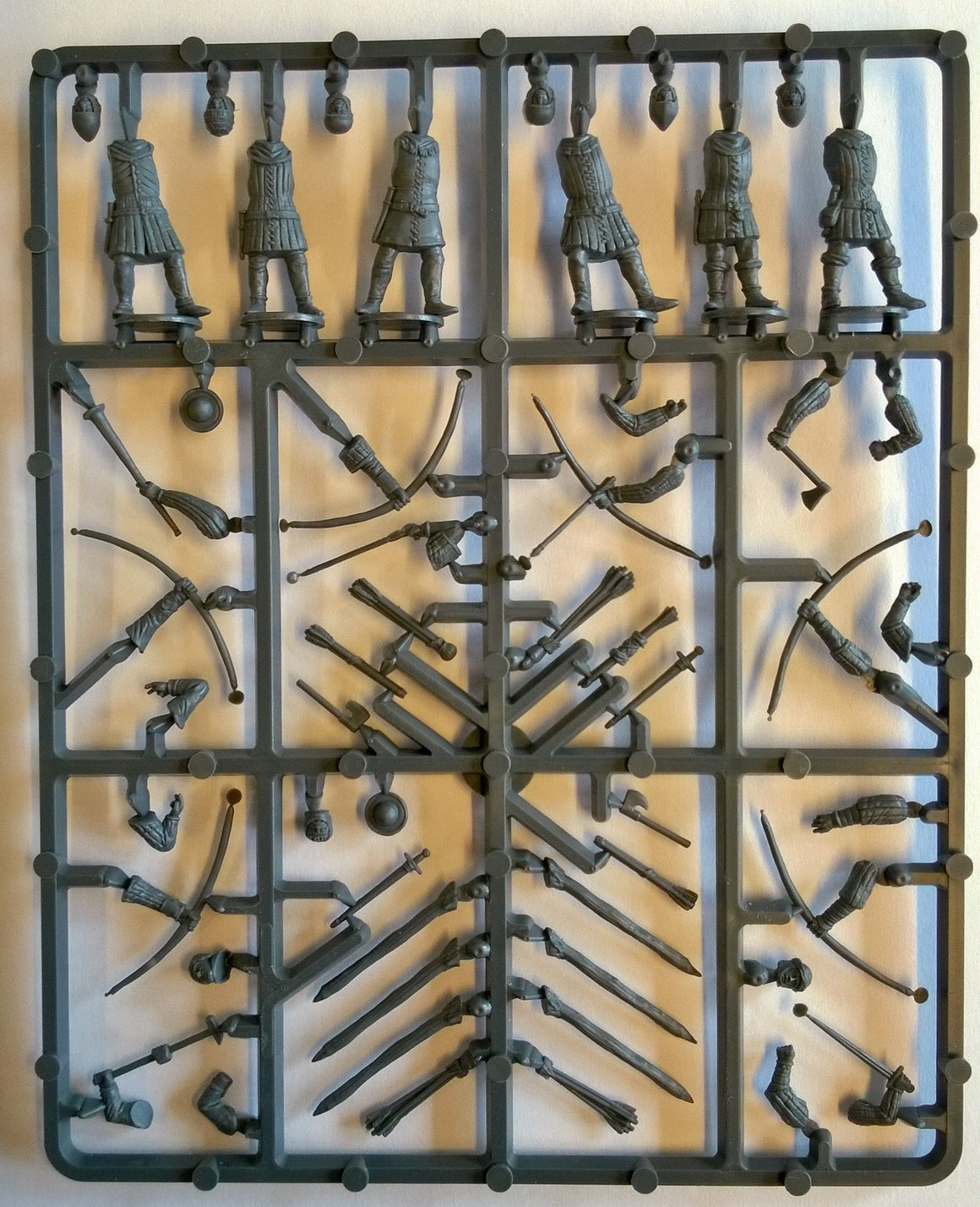 Perry Miniatures English Army 1415-1429 Archers Sprue