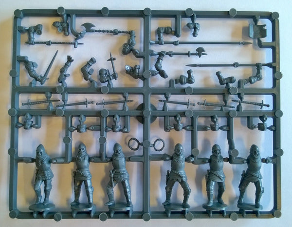 Perry Miniatures Agincourt English Foot Knights1415-1429 Sprue
