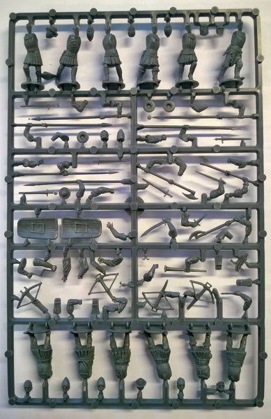 Perry Miniatures Agincourt French Infantry 1415-29 Sprue