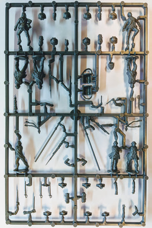 Perry Miniatures American War of Independence British Command Sprue