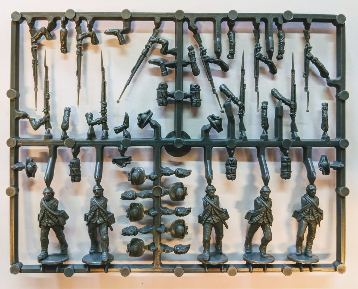 Perry Miniatures American War of Independence British Infantry Sprue