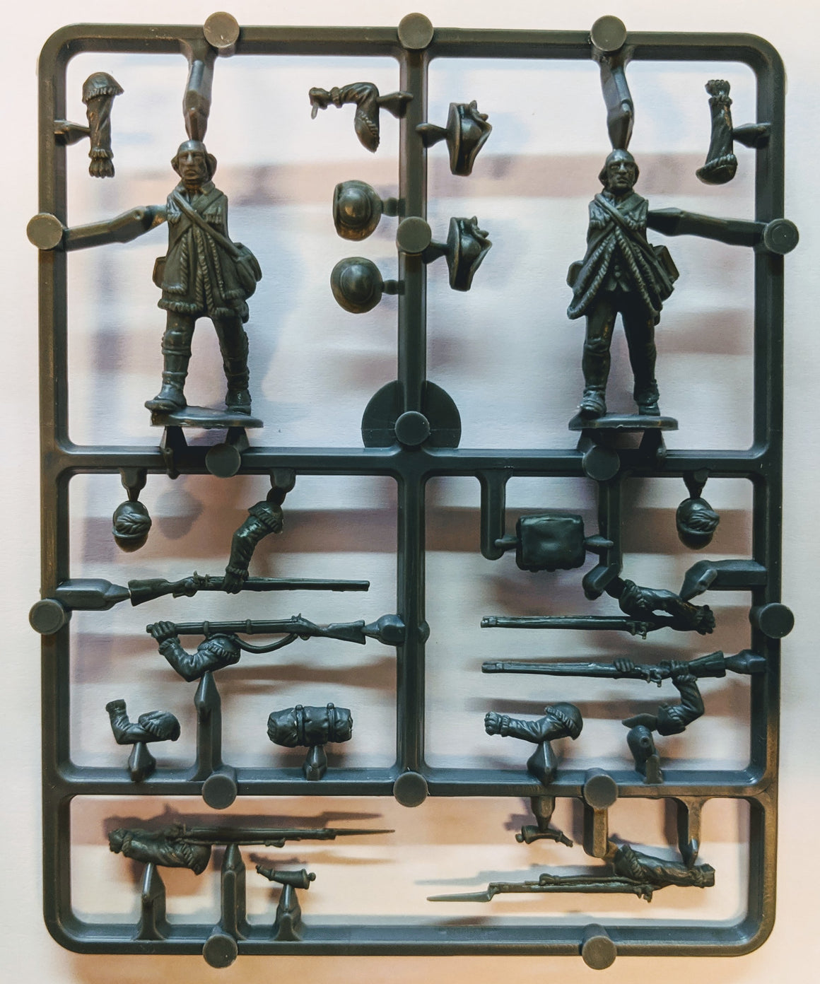 Perry Miniatures American War of Independence Continental Rifles Sprue