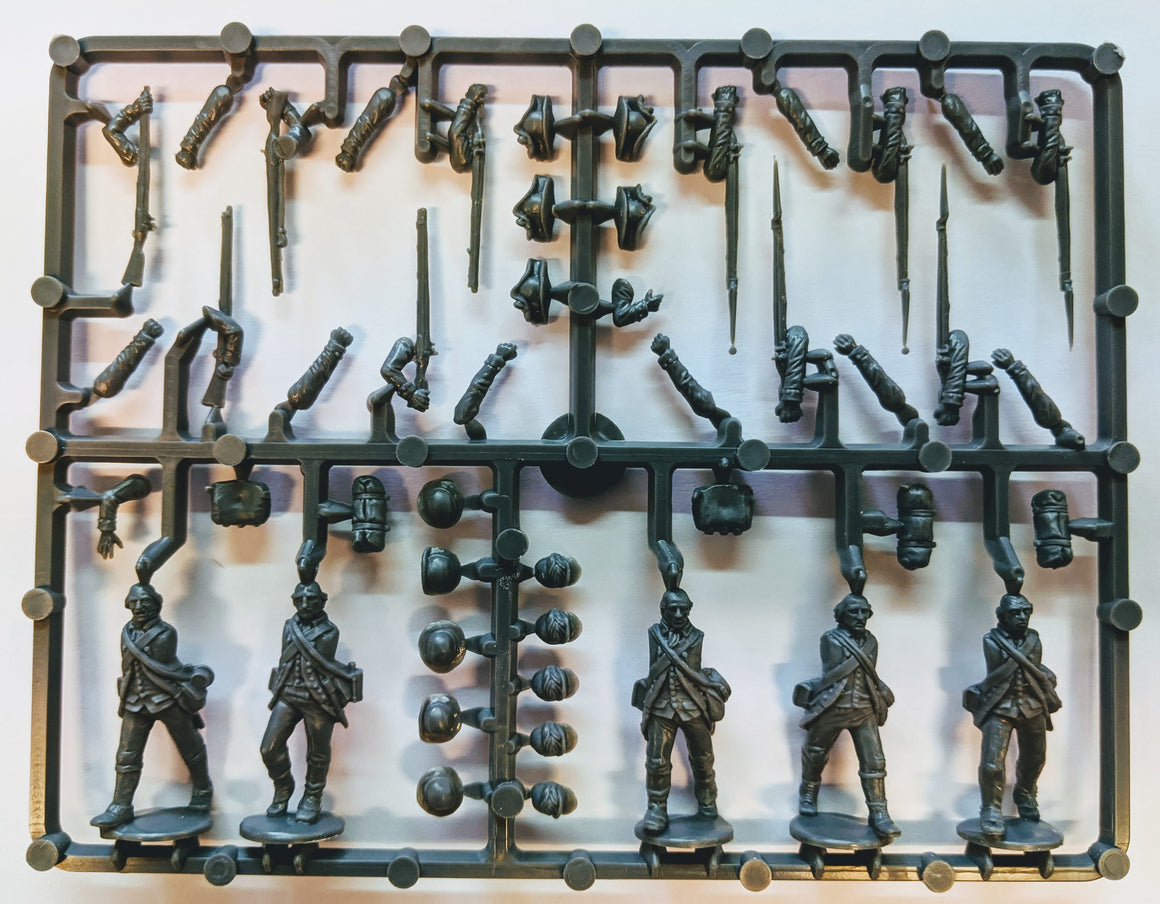 Perry Miniatures American War of Independence Continental Infantry Sprue