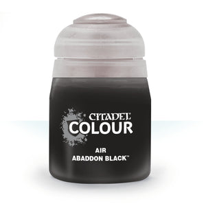 Citadel Air Paint Abaddon Black
