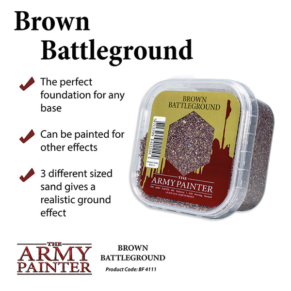 Army Painter Basing: Brown Battleground
