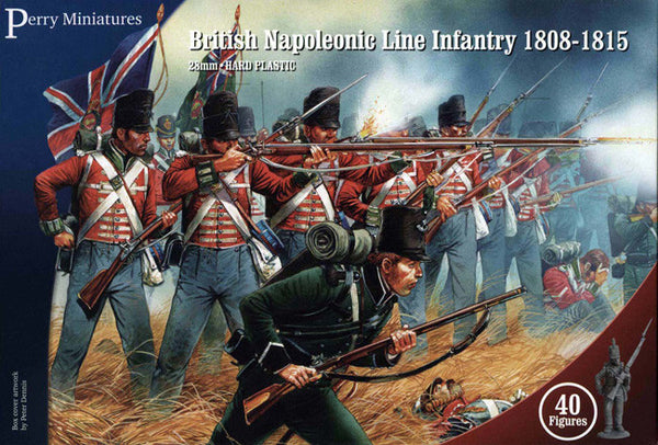 Perry Miniatures British Napoleonic Line Infantry box set