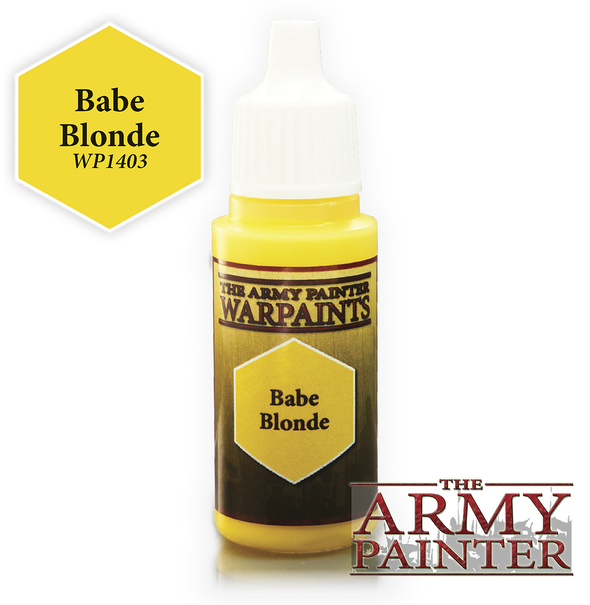 Army Painter Acrylic Warpaint - Babe Blonde
