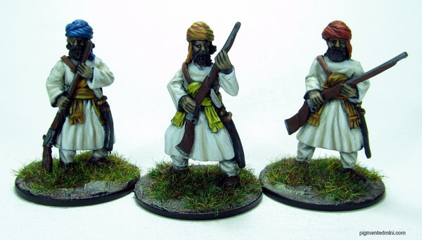 BAL03 Baluchi tribesmen with muskets