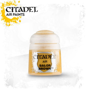 Citadel Air Paint Balor Brown