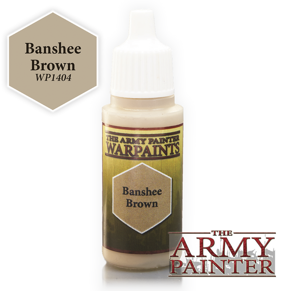 Army Painter Acrylic Warpaint - Banshee Brown