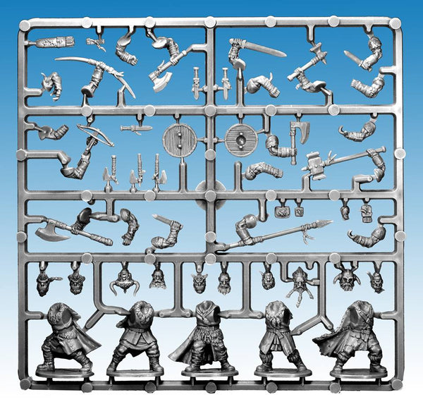 Frostgrave Barbarians Single Sprue