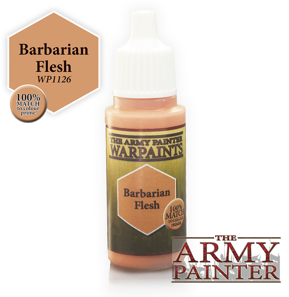 Army Painter Acrylic Warpaint - Barbarian Flesh