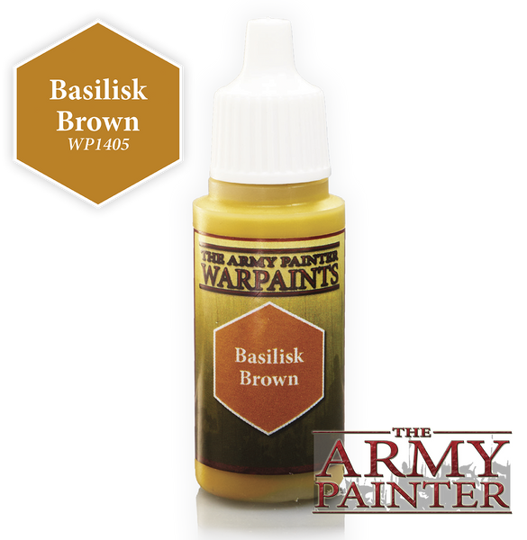 Army Painter Acrylic Warpaint - Basilisk Brown