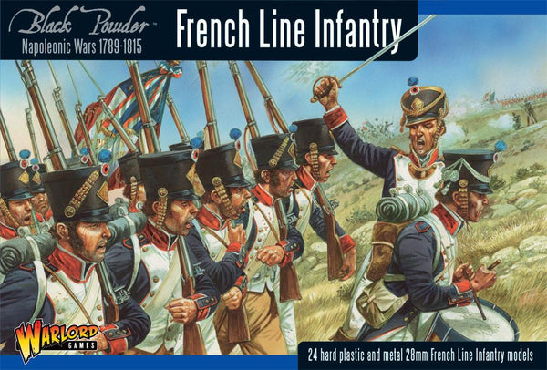 Black Powder Napoleonic French Line Infantry