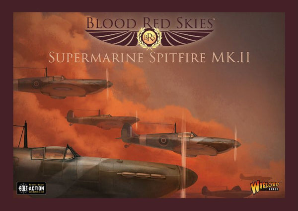 Blood Red Skies Supermarine Spitfire Mk. II Squadron