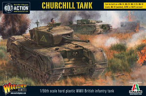 Bolt Action WWII Churchill Tank