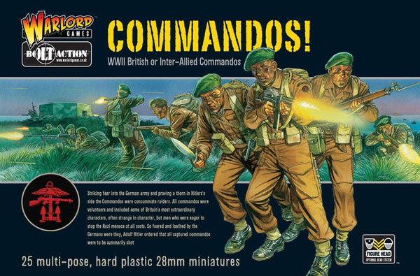 Bolt Action WWII Commandos!