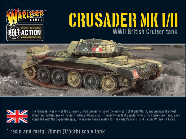 Bolt Action WWII Crusader Mk I/II