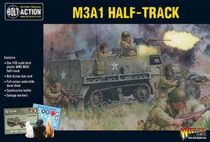 Bolt Action M3A1 Half-Track