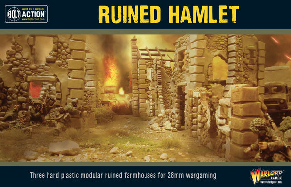 Bolt Action Ruined Hamlet