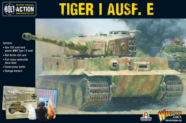 Bolt Action WWII Tiger I Ausf. E