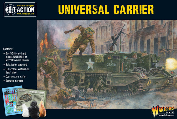 Bolt Action WWII Universal Carrier