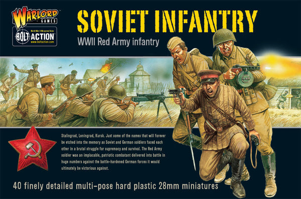 Bolt Action WWII Soviet Infantry