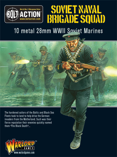 Bolt Action WWII Soviet Naval Brigade Squad