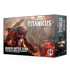 Adeptus Titanicus Reaver Battle Titan with Melta Cannon & Chainfist
