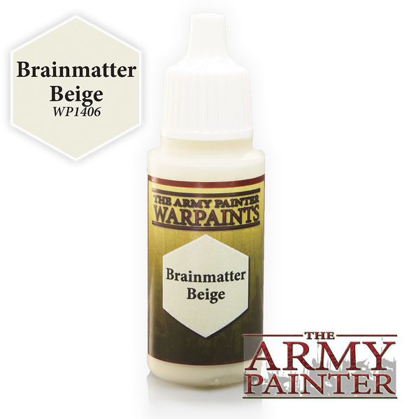 Army Painter Acrylic Warpaint - Brainmatter Beige