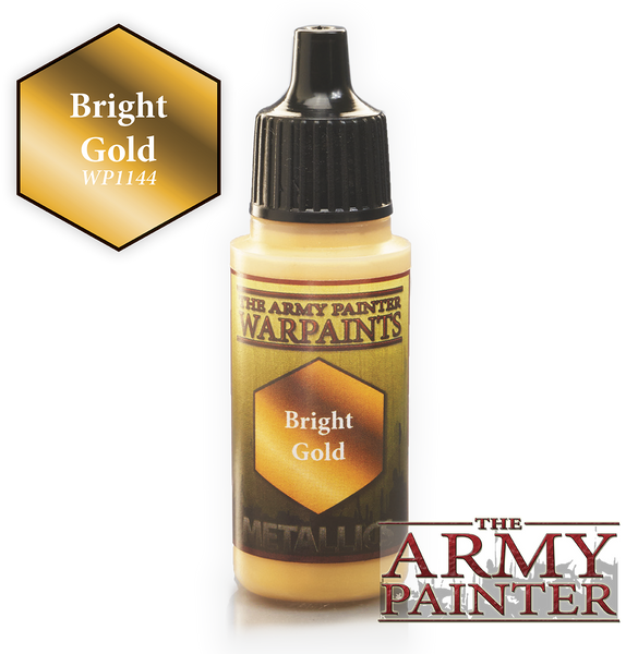 Army Painter Acrylic Warpaint - Bright Gold