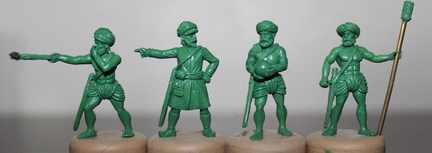 CAN01 Indian Artillery Crew - 4 pack
