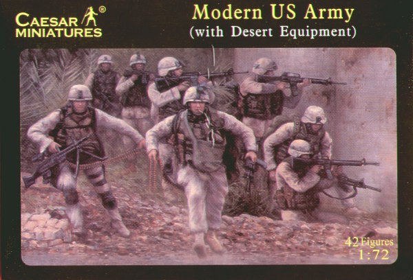 Caesar Miniatures CMH030 Modern US Army (with Desert Equipment)