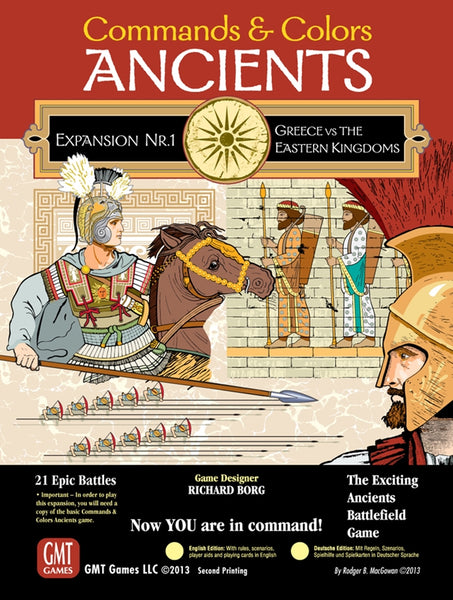 Commands & Colors: Ancients - Expansion 1 (Greece & Eastern Kingdoms)