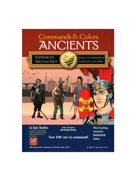 Commands & Colors: Ancients - Expansion 2 & 3 (Combo Pack)