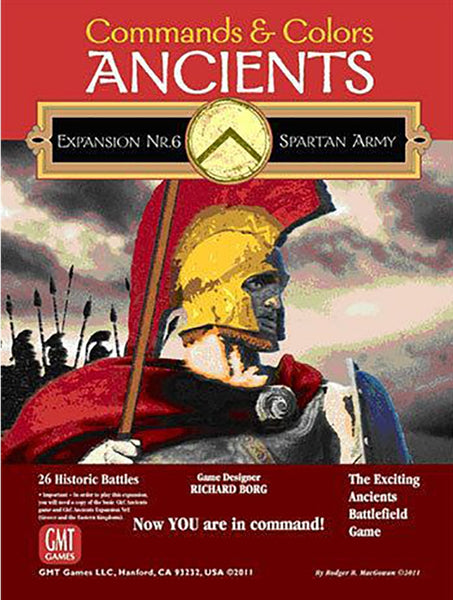 Commands & Colors: Ancients - Expansion 6 (Spartan Army)