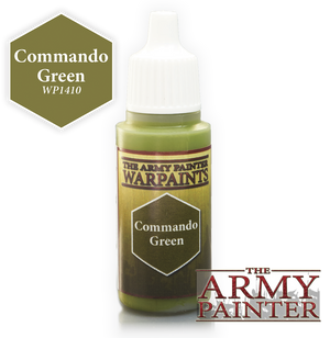 Army Painter Acrylic Warpaint - Commando Green