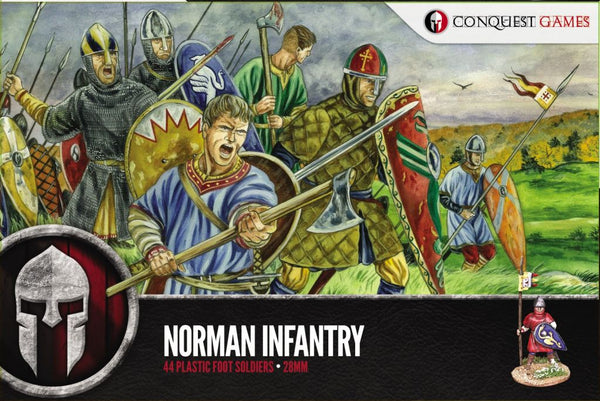 Conquest Games Norman Infantry