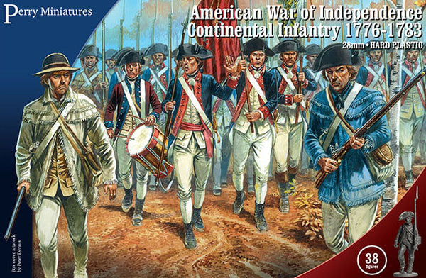 AW 250 American War of Independence Continental Infantry 1776-1783