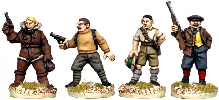 Copplestone Castings - Jolly Good Chaps (BC10)