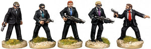 Copplestone Castings - Men In Black (Future Wars FW24)