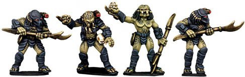 Copplestone Castings - Hunter Aliens (Future Wars FW25)