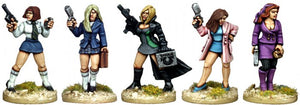 Copplestone Castings - Corporate Babes (Future Wars FW27)