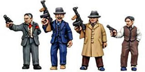 Copplestone Castings - Frankie's Fingermen (Gangsters GN1)